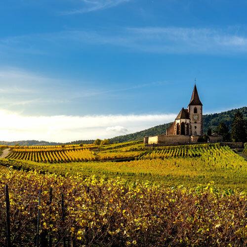 Paris, Champagne et Vins d'Alsace